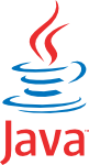 Logo de la technologie Java développée par Oracle Corporation