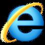 Symbole officiel du navigateur Internet Internet Explorer