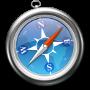 Symbole officiel du navigateur Internet Safari