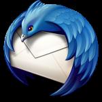 Logo du client de messagerie libre Thunderbird de la Fondation Mozilla